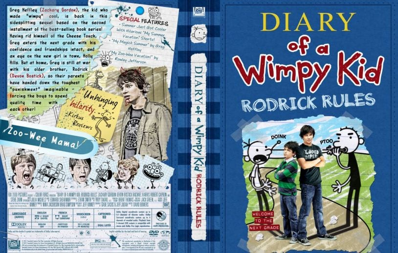 diary of a wimpy kid rodrick rules book pdf