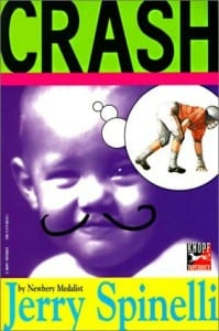 crash, jerry spinelli, book, story for kids, cover