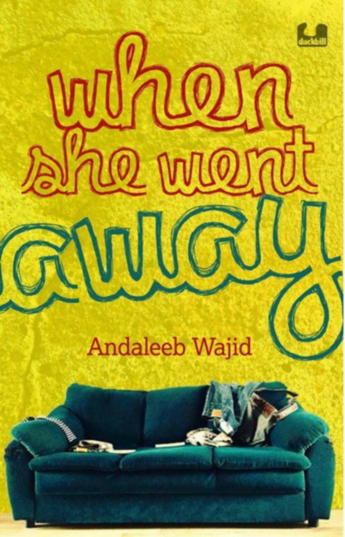 She went away andaleeb wajid book story for kids cover review